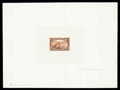 Stamps, (285P1-293P1) 1898 Trans-Miss. set complete, large die proofs...