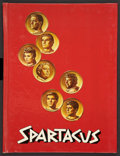 "Movie Posters:Adventure, Spartacus (Universal International, 1960). Hardcover Program(Multiple Pages, 8.5"" X 11.25). Adventure.. ..."