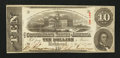 Confederate Notes:1863 Issues, T59 $10 1863.. ...
