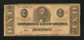 Confederate Notes:1862 Issues, T55 $1 1862.. ...