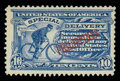 Stamps, (E2a) Philippines Special Delivery, 1907, 10¢ ultramarine, Bureau of Insular Affairs Special Printing...
