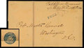 Stamps, (2XU1 var) Post Office Annapolis, Md. with Eagle...