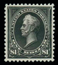 Stamps, (261A) 1894, $1 black, type II...