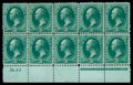 Stamps, (147) 1870, 3¢ green...
