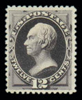 Stamps, (198) 1880 Special Printing, 12¢ blackish purple...