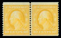 Stamps, (356) 1909, 10¢ yellow coil...