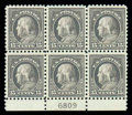 Stamps, (475) 1916, 15¢ gray...