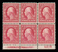 Stamps, (519) 1917, 2¢ carmine, DL watermark...