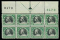 Stamps, (524) 1918, $5 deep green & black...