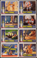 """Movie Posters:Science Fiction, Project Moon Base (Lippert, 1953). Lobby Card Set of 8 (11"""" X 14"""").Science Fiction.. ... (Total: 8 Items)"""