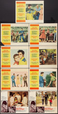 "Movie Posters:Elvis Presley, Elvis Presley Lot (Various, 1957-1969). Lobby Cards (9) (11"" X14""). Elvis Presley.. ... (Total: 9 Items)"