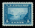 Stamps, (399) 1913, 5¢ Panama-Pacific...