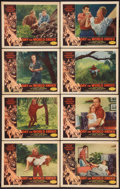 "Movie Posters:Science Fiction, Day the World Ended (American Releasing Corp., 1956). Lobby CardSet of 8 (11"" X 14""). Science Fiction.. ... (Total: 8 Items)"