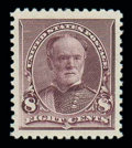 Stamps, (225) 1893, 8¢ lilac...