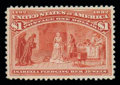 Stamps, (241) 1893, $1 Columbian...