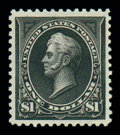 Stamps, (276A) 1895, $1 black, type II...