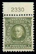 Stamps, (309) 1903, 15¢ olive green...