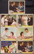 "Movie Posters:Drama, Dr. Kildare's Victory (MGM, 1942). Title Lobby Card & Lobby Cards (6) (11"" X 14""). Drama. Released as Doctor and the Debut... (Total: 7 Items)"