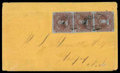 Stamps, (1) 1853, 1d red brown...