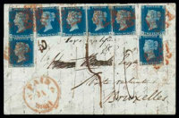 Great Britain, 1840, 2d blue plate II