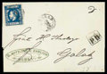 Stamps, Romania, 1872, 10b blue perf 12½...