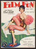 """Movie Posters:Miscellaneous, Film Fun (Dell, 1929). Magazine (8.5"""" X 11.5"""", Multiple Pages). Miscellaneous.. ..."""