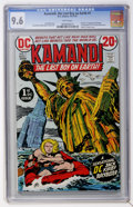 Bronze Age (1970-1979):Science Fiction, Kamandi, the Last Boy on Earth #1 (DC, 1972) CGC NM+ 9.6 White pages....