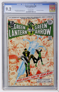 Green Lantern #86 (DC, 1971) CGC NM- 9.2 Off-white pages