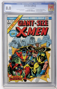 Giant-Size X-Men #1 (Marvel, 1975) CGC VF 8.0 Off-white to white pages