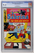 Bronze Age (1970-1979):Humor, Sabrina The Teen-Age Witch #1 (Archie, 1971) CGC NM- 9.2 Off-white to white pages....