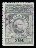Stamps, (RG106) Silver Tax, 1942, $500 gray...