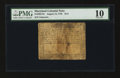 Colonial Notes:Maryland, Maryland August 14, 1776 $1/2 PMG Very Good 10.. ...