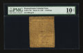 Colonial Notes:Pennsylvania, Pennsylvania March 10, 1769 2s PMG Very Good 10 Net.. ...
