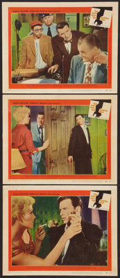 """The Man With the Golden Arm (United Artists, 1955). Lobby Cards (3) (11"""" X 14""""). Drama. ... (Total: 3 Items)"""