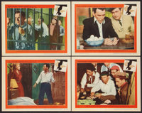 """The Man With the Golden Arm (United Artists, 1955). Lobby Cards (4) (11"""" X 14""""). Drama. ... (Total: 4 Items)"""