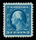 Stamps, (504) 1917, 5¢ blue...