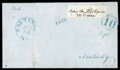 Stamps, (3X2) Baltimore, Md., 1845, 10¢ black on white...