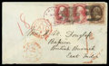 Stamps, (139) 1870, 10¢ brown, grilled...