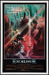 """Excalibur (Warner Brothers, 1981). One Sheets (2) (27"""" X 41"""") Regular and Advance. Fantasy. ... (Total: 2 Item..."""