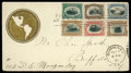 Stamps, (294-299) 1901 Pan-American set complete...