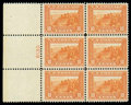 Stamps, (400A) 1913, 10¢ orange Panama-Pacific...