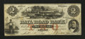 Obsoletes By State:Michigan, Adrian, MI- Erie and Kalamazoo Rail Road Bank $2 Aug. 1, 1853. ...