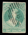 Stamps, 1/- dull emerald-green...