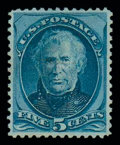 Stamps, (179c) 1875, 5¢ blue, J. grill...