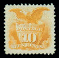 Stamps, (116) 1869, 10¢ yellow...