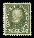 Stamps, (284) 1898, 15¢ olive green...