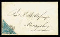 """Stamps, (14b) 1861 4d. pale bright blue """"Woodblock""""..."""