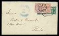Stamps, 1881 (July 7) Granada to Paris, France...