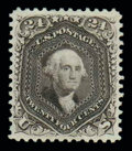 Stamps, (109) 1875 Re-issue of 1861-67 issue, 24¢ deep violet...