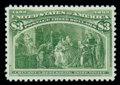 Stamps, (243) 1893, $3 Columbian...